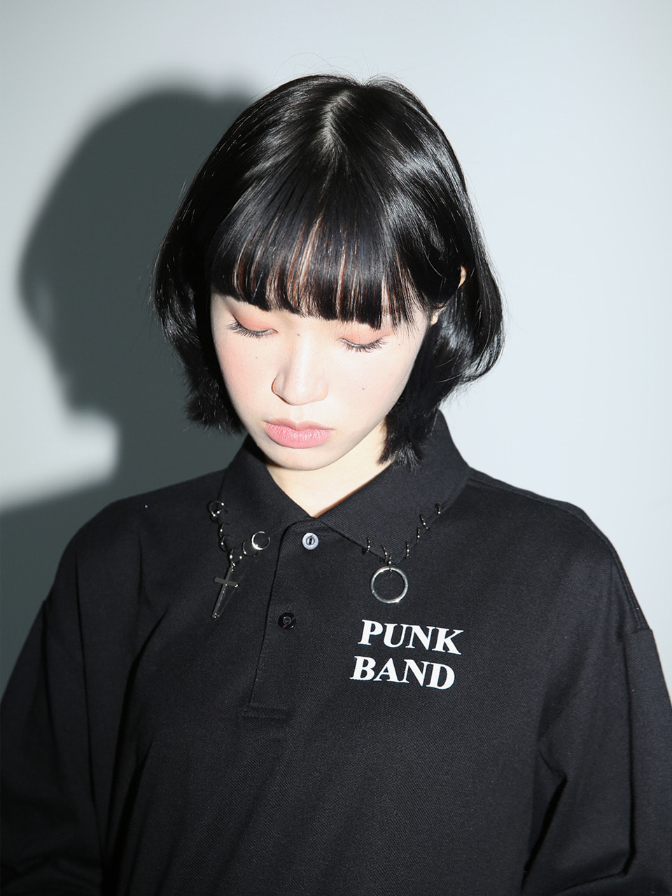 [NEW 10%SALE] 0 1 punk band ring pk
